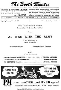 At War with the Army Allardice